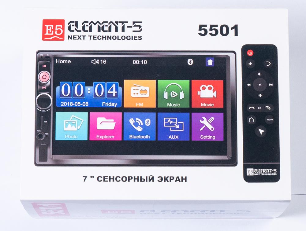 Магнитола E5-2DIN 5501